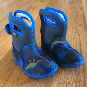 Baby Bogs Dino waterproof boots size 7